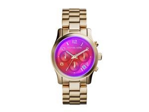 Michael Kors Runway Quartz Analog Purple Dial Women's Watch MK5939