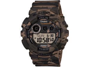 Casio G-Shock Quartz Digital Brown Dial Mens Watch GD120CM-5