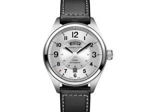 Hamilton Khaki Field Swiss Automatic Analog Silver Dial Men's Watch H70505753