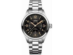 Hamilton Khaki Field Swiss Automatic Analog Black Dial Men's Watch H70505933