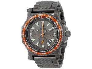 Reactor Proton Quartz Analog Grey Dial Men's Watch 91610