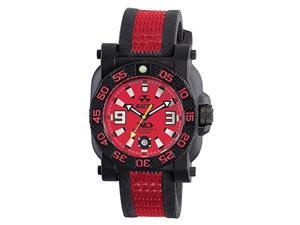 Reactor Gryphon Quartz Analog Red Dial Men's Watch 73811