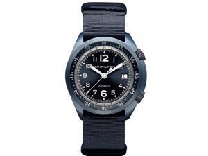 Hamilton Khaki Pilot Pioneer Swiss Automatic Analog Black Dial Men's Watch H80495845
