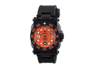 Reactor Gryphon Quartz Analog Orange Dial Men's Watch 73808