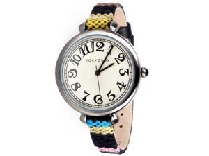 TOKYObay Sedona Analog White Dial Women's Watch T016-BK