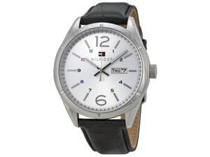 Tommy Hilfiger Analog Silver Dial Men's Watch 1791060
