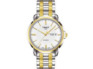Tissot Carson Analog White Dial Men's Watch T085.407.22.011.00