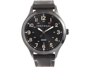 TOKYObay Mason Analog Black Dial Men's Watch T227-BK