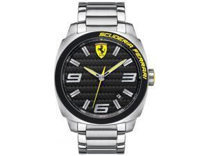 Scuderia Ferrari Aero Evo Analog Black Dial Men's Watch 830168