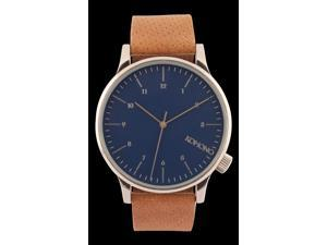 Komono Winston Analog Blue Dial Men's Watch KOM-W2000