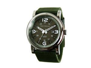 TOKYObay Military Quartz Analog  Green Dial  Men's Watch TM1045-GR
