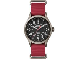 Timex Expedition Scout Men's Red Analog Watch TW4B04500