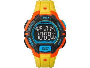 Timex Sport Ironman Rugged 30 Full-Size TW5M02300 Yellow / Black Resin Digital Quartz Unisex Watch