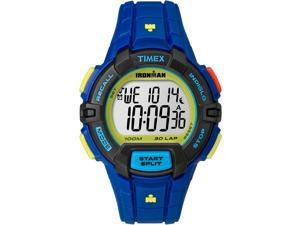 Timex Sport Ironman Rugged 30 Full-Size TW5M02400 Blue / Grey Resin Digital Quartz Unisex Watch