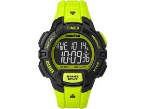 Timex Sport Ironman Rugged 30 Full-Size TW5M02500 Neon Green / Black Resin Digital Quartz Unisex Watch