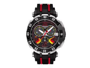 Tissot T-Race Stefan Bradl 2016 T092.417.27.057.02 Black/Black with Red Stripes Rubber Analog Quartz G10.212 Men's Watch