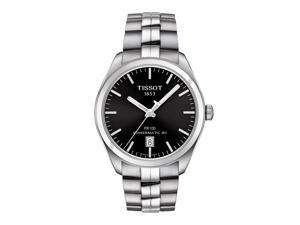Tissot PR 100 Automatic Gent T101.407.11.051.00 Black/Silver Stainless Steel Analog Automatic Men's Watch