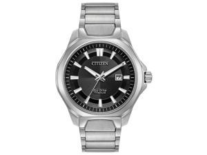 Citizen AW1540-88E Silver Titanium Mens Watch