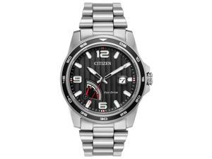Citizen AW7030-57E Silver Stainless Steel Mens Watch