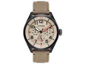 Citizen BU2055-08X Tan Ion-Plated Stainless Steel Mens Watch