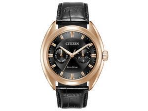 Citizen BU4013-07H Black Rose Gold-Tone Stainless Steel Mens Watch