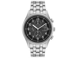 Citizen Chandler CA0620-59H Silver Mens Eco-Drive B612 Watch