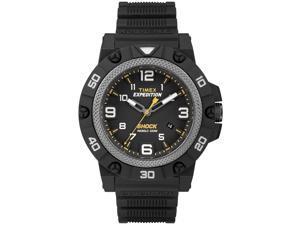 Timex Mens Expedition Field Sport Shock Black w/ Indiglo Watch TW4B01000