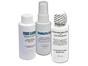 Electrode Stimulation Care Kit - Skin Prep, Conductive Spray & Lotion