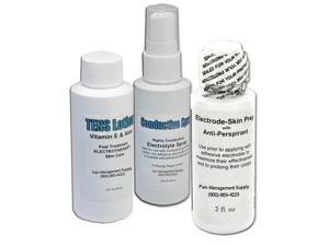 Electrode Stimulation Care Kit - Skin Prep, Conductive Spray & Lotion