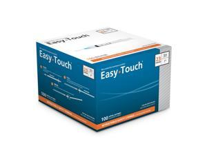 EasyTouch 23 Gauge 3cc 1 in Retractable Safety Syringe w/ Exchangeable Needle - 100 ea 872331