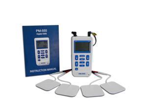 Dual Channel Digital Muscle Stimulator Machine - ProM-555, 3 Modes