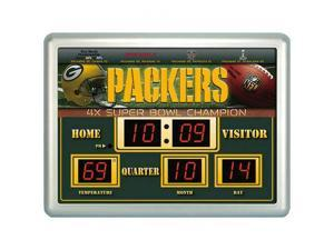 Green Bay Packers Scoreboard Clock