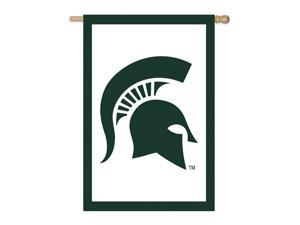 Michigan State University-Double Sided House Flag
