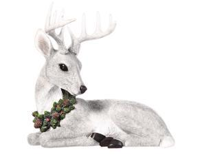 New Creative Polystone All is Calm Deer Statuary