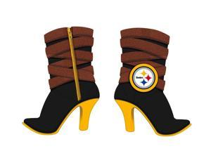 Pittsburgh Steelers Boot Polystone Ornament