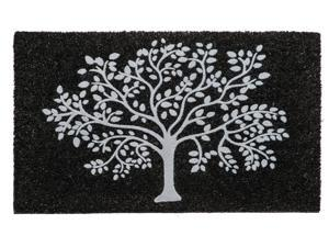 Evergreen Tree of Life Coir Mat, 28 x 16 inches