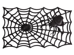 Evergreen Rubber Spider Web Mat, 30 x 18 inches
