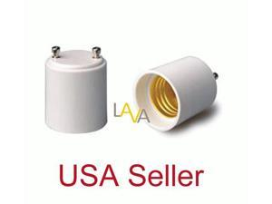 Lot of 12 PCs GU24 to E27/E26 Standard Light Bulb Lamp Holder Adapter