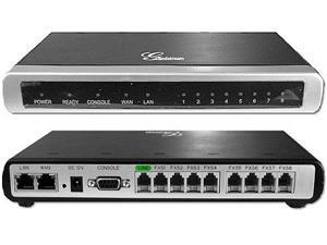Grandstream GXW4008 IP Analog Gateway 8-port FXS Router