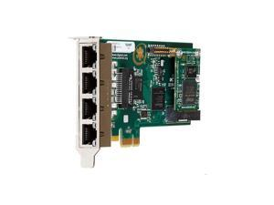 Digium 1TE435F Four (4) Span Digital T1/E1/J1/Pri PCI-Express X1 Card