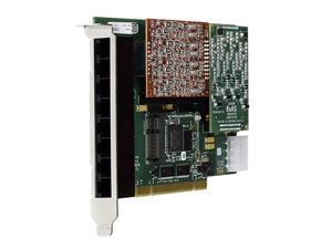 Digium 1A8A06F 8 Port Modular Analog PCI 3.3/5.0V Card with 8 Station Interfaces