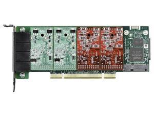 Digium 1A4A01F 4 Port Modular Analog PCI 3.3/5.0V Card, No Interfaces