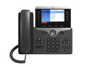Cisco IP Phone 8861, CP-8861-K9, VoIP, a/b/g/n/ac Wi-Fi, Multilines, Cordless