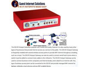 Guest Internet GIS-R2 Internet Hotspot Gateway up to 50 users 4 port switch