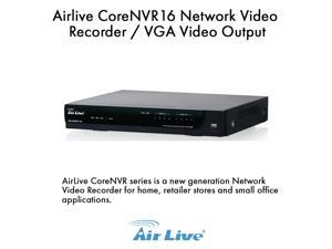 Airlive CoreNVR16 Network Video Recorder/VGA Video Output, 16 Channel