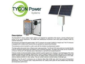 Tycon Power Systems RPST2448-50-140 RemotePro 35W Continuous Remote Power System