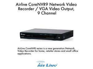 Airlive CoreNVR9 Network Video Recorder / VGA Video Output, 9 Channel