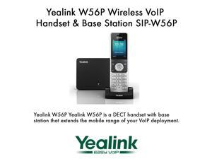 Yealink W56P Wireless VoIP Handset & Base Station SIP-W56P