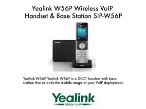 Yealink W56P Wireless VoIP Handset & Base Station SIP-W56P