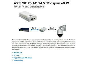Axis 5900-251 AXIS T8125 AC 24V Midspan 60W